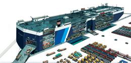 滚装船--大宗货物的国际海运好帮手!