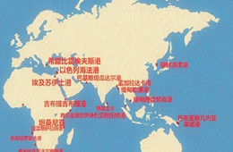 中國在全球打造的八大港口及其位置