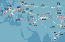 鄭州=莫斯科班列新線路開通,中歐班列網絡布局進一步完善