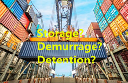 Difference between Storage and Demurrage