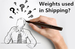 Difference Between the Various Weights Used in Shipping