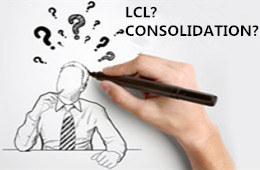 Difference between LCL and Consolidation